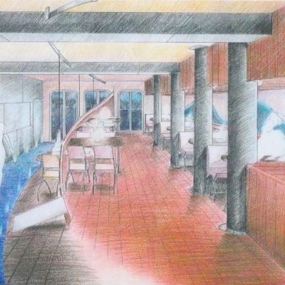 ontwerp restaurant Hoeve te Elburg