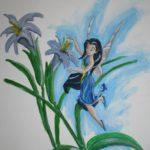 muurschildering babykamer door LINDESIGN