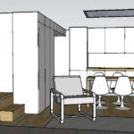 Interieurontwerp klein appartement 35 m2 Amsterdam