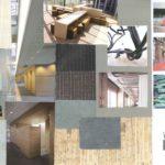 materiaal collage Comenius college te Hilversumn