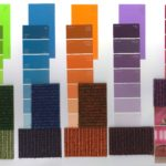 Visualisatie kleuren pallet comenius college te Hilversum