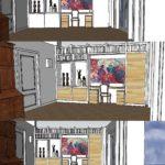 interieurontwerp jaren 30 woning Middelburg Zeeland door LINDESIGN