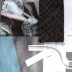 materialen collage idee 1 hotelkamer