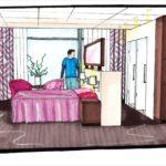 interieurontwerp hotelkamer zorghotel Palatijn te Alkmaarmer zorghotel Palatijn te Alkmaar