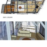 interieurontwerp zolder verdieping IDEE 2 Spuistraat
