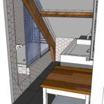 ontwerp badkamer zolderverdieping Amsterdam