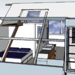 ontwerp slaapkamer badkamer zolderverdieping Amsterdam