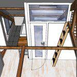 ontwerp zolderverdieping Amsterdam