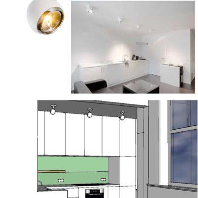 ontwerp nieuwe keuken