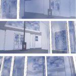 visualisatie als vloer woonkamer eruitgaat in villa te Lelystad
