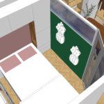 nieuwe indeling slaapkamer