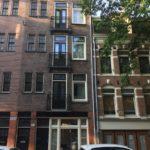 Foto voorgevel uitbreiding woning Ostadestraat Amsterdam